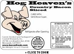 Hog Heaven's Country Bacon