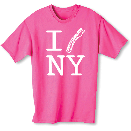 Pink shirts nyc custom shirt for Nyc custom t shirts