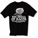 I Love The Smell Of Bacon In The Morning Mens T-Shirt