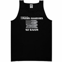 I Pledge Allegiance To Bacon Mens Tank Top - Black