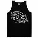 I Put Bacon on My Bacon Mens Tank top - Black