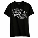 I Put Bacon on My Bacon Womens Shirt - Black, Pink or Blue