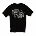 I Put Bacon on My Bacon Youth T-shirt - Black - Blue or Pink