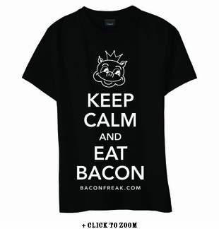 Keep Calm and Eat Bacon Women's Classic Fit Shirt