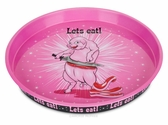 """Let's Eat!"" Slicey Pig Tray"