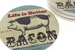 """""""Life Is Better With Bacon"""" Coaster Set - Click to Enlarge"""