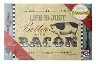 """Life Is Just Better With Bacon"" Paper Placemats"