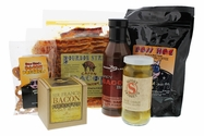 Mardi Gras Bourbon Street Bacon Gift Bundle