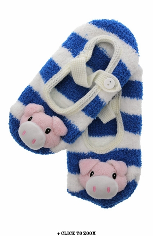 Mary Jane Piggy Slippers