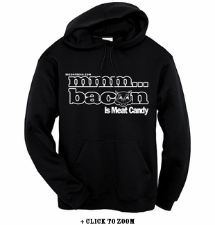 MMM… Bacon Hooded Sweatshirt