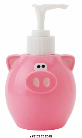 Oink Oink Squeeze Bottle with Pump
