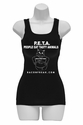 P.E.T.A. - People Eat Tasty Animals Womens Tank Top