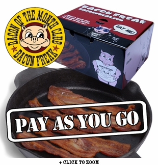 Pay As You Go Monthly Bacon Club To Canada
