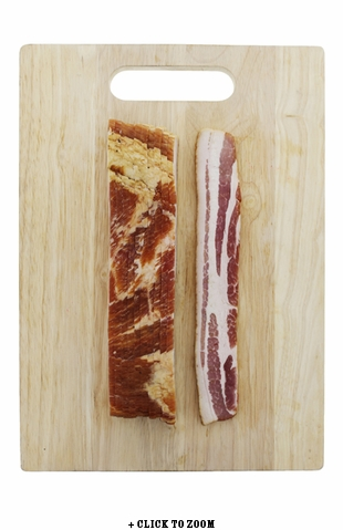 Pink Belly Thick Cut Hickory Smoked Bacon