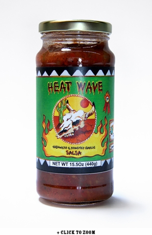 Red Hot Foods Heatwave Habanero and Roasted Garlic Salsa