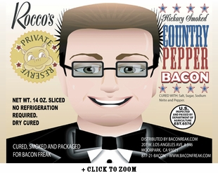 Rocco's Private Reserve Country Pepper Bacon