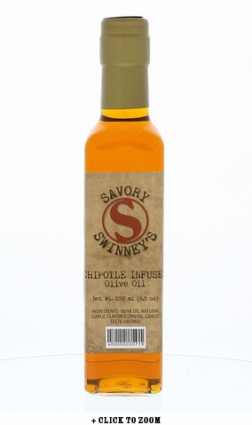 Savory Swinny's Chipotle Infused Olive Oil