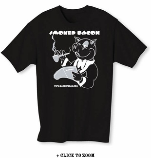 Smoked Bacon - Men's T-shirt