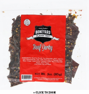 Smokey Strabler's Flamin' Hot Beef Jerky