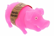 Squeaky Squealer Dog Toy - Pink
