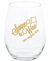 Swine and Wine Stemless Wine Glass