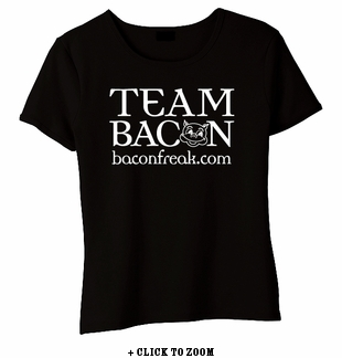 Team Bacon Baby Doll Shirt