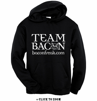 Team Bacon Hooded Sweatshirt