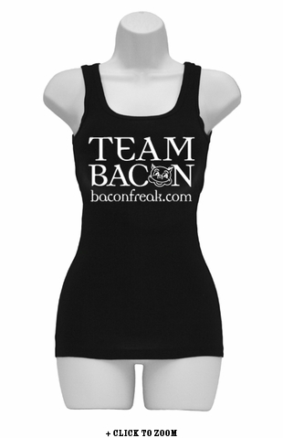Team Bacon Womens Tank Top