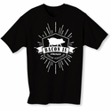 Bacon Is Porcine Perfection Mens T-shirt - Black - Blue or Pink
