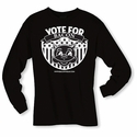 Vote for Bacon - Long sleeve