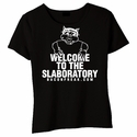 Welcome To The Slaboratory Baby Doll Shirt