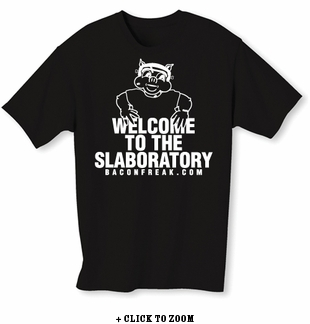 Welcome To The Slaboratory Mens T-shirt