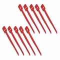 "1"" x 13"" Hook/Loop Cable Tie - Red (10 pack)"