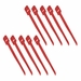 1 x 13 Hook/Loop Cable Tie - Red (10 pack)