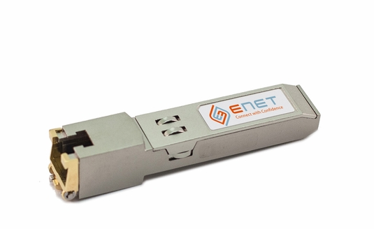 10/100/1000BASE-T SFP Transceiver, 100m, Copper, RJ45