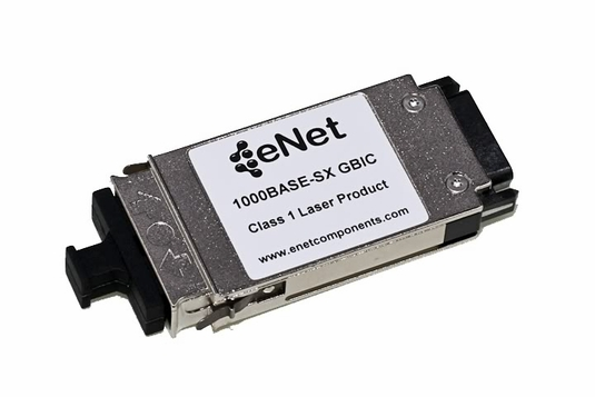 E1G-SX-ENC - 1000BASE-SX GBIC 850nm Wavelength 550M MM, SC Connector