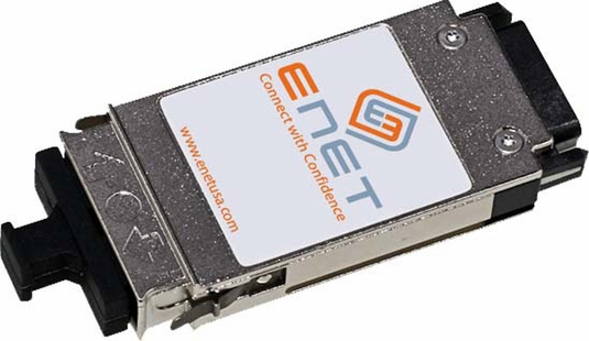 1000BASE-SX GBIC Transceiver, 550m, MM, 850, SC