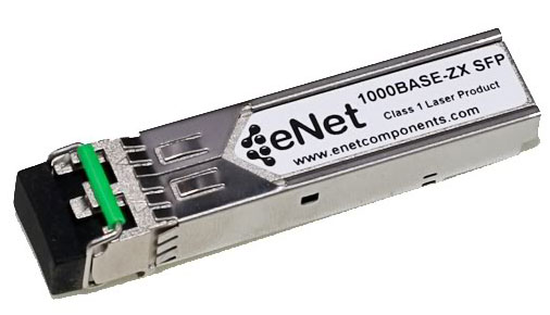 1000BASE-ZX SFP Transceiver, SM 1550nm LC