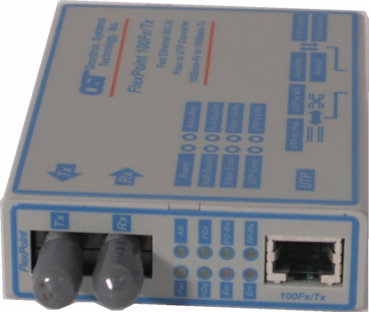 100Base-TX to 100Base-FX Transceiver<img src=https://lib.store.yahoo.net/lib/yhst-7602493195877/saletag.jpg border=0 alt=SALE!>