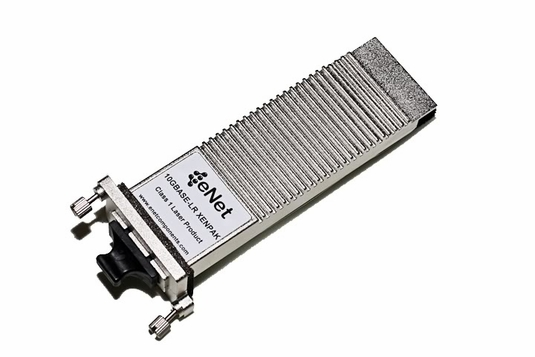 10GBASE-LR+ XENPAK Transceiver, SM 1310nm 10km SC DOM Support