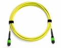 12-Fiber MTP/MPO Fiber Optic Cable, Singlemode OS2, Plenum