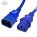 15AMP P-Lock C14 to C13 Locking Power Cables - Blue