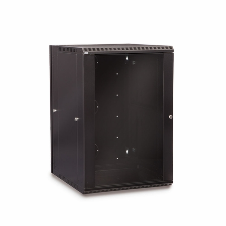 18U LINIER Swing-Out Wall Mount Cabinet