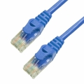 1Ft Cat6 Ferrari Boot Ethernet Cable - Blue, 10-Pack
