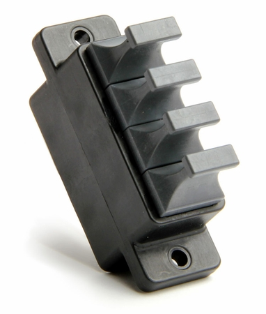 1x4 Ganged MTP/MPO Fiber Coupler, Straight-Thru
