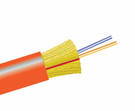 2-Fiber 50/125 OM2 Ultra-Fox In/Outdoor Distribution, Riser Rated