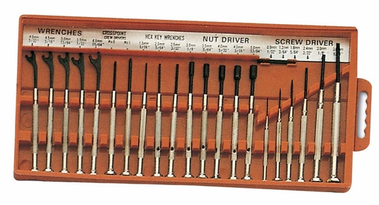 21 Piece Mini Screwdriver Set