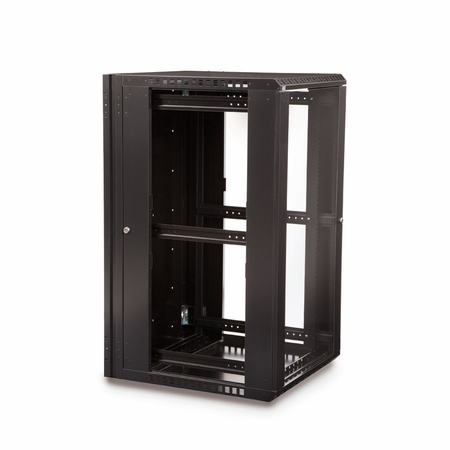 22U Swing-Out Wall Mount Cabinet
