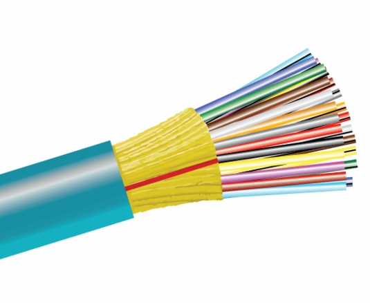 24-Fiber 50/125 OM4 Ultra-Fox In/Outdoor Distribution, Riser Rated
