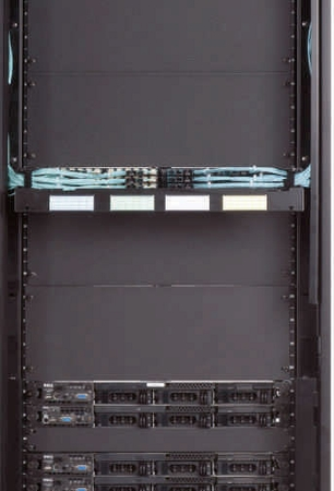 24 Vertical Cable Manager & Thermal Barrier - Left